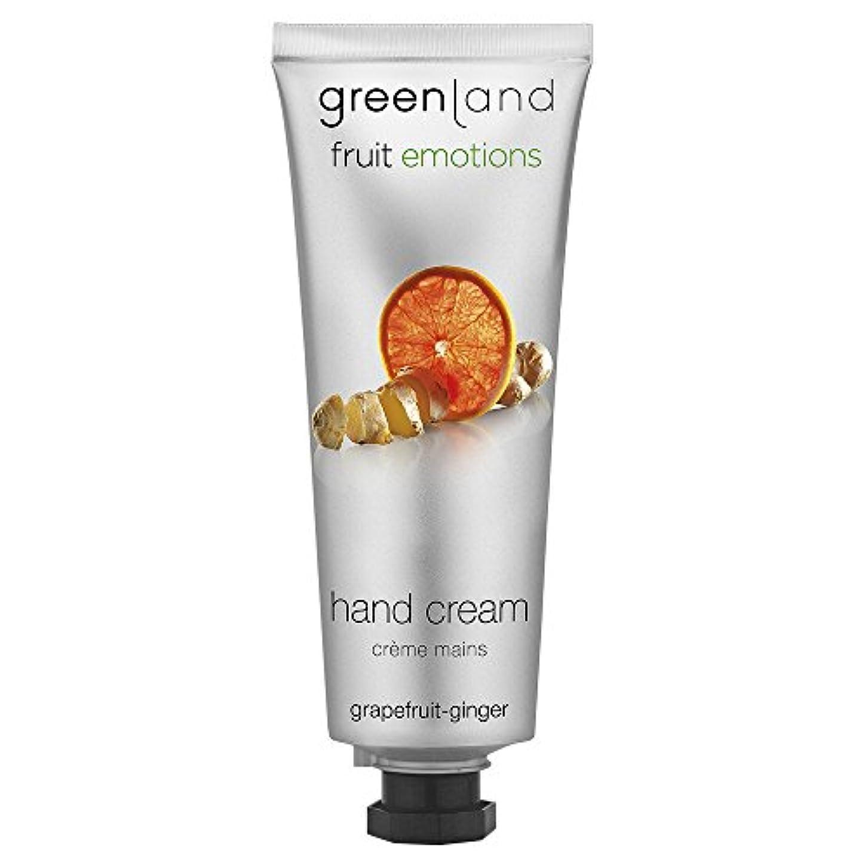 テンション険しい掃除greenland [FruitEmotions] ハンドクリーム 75ml グレープフルーツ&ジンジャー FE0535