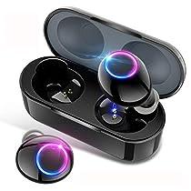 [2019最新イヤホン bluetooth イヤホン ] 完全ワイヤレスイヤホン bluetooth 5.0 イヤホン 自動ペアリング 音量調整 ワイヤレス