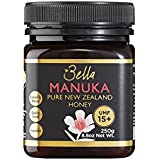 Bella New Zealand Manuka Honey Certified UMF 15+ (MGO 515) | 250g | Raw Premium 100% New Zealand Manuka Honey | Nature's Superfood, Perfect for a Healthy Lifestyle | Supports Immunity Naturally