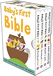 Baby's First Bible Boxed Set: The Story of Jesus, Noah's Ark, the Story of Moses, Adam and Eve: The St