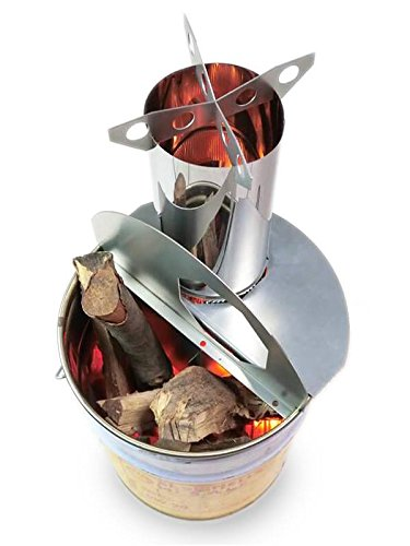 ロケットストーブ 『焚火缶』 キット