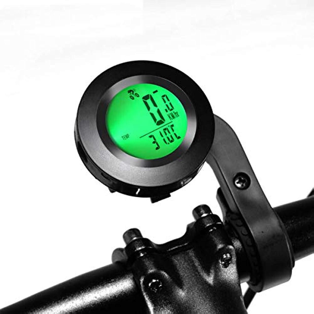 リハーサルネーピアボットPalummaサイクルコンピュータ ワイヤレス 防水 自転車コンピューター LCDモニター バックライト付き 多機能 スピードメーター 取付簡単 円形 ストップウォッチ 走行距離計 走行時間計 オオドメータ一 軽くて邪魔にならない 説明書付き
