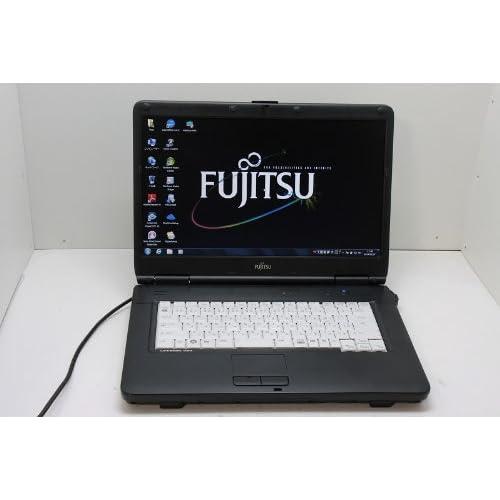 中古ノートパソコン 【Windows 7 Pro】 富士通 LIFEBOOK A540/A Intel  Celeron 900 2.20GHz 2GB 160GB DVDコンボ