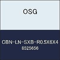 OSG エンドミル CBN-LN-SXB-R0.5X6X4 商品番号 8525656