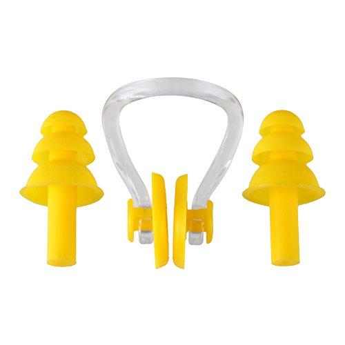 スイムグッズ 耳栓・鼻栓セット ケース付 スイミングに 医療...