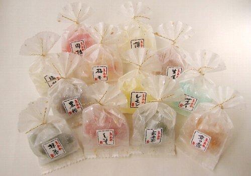 ホワイトデー お返し 彩り京飴セット 風呂敷包み ピンク色
