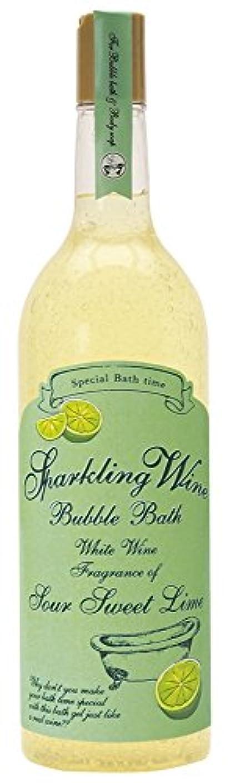 検出デュアルひねりノルコーポレーション 入浴剤 バブルバス スパークリングワイン 大容量 810ml ライムの香り OB-WIB-3-2