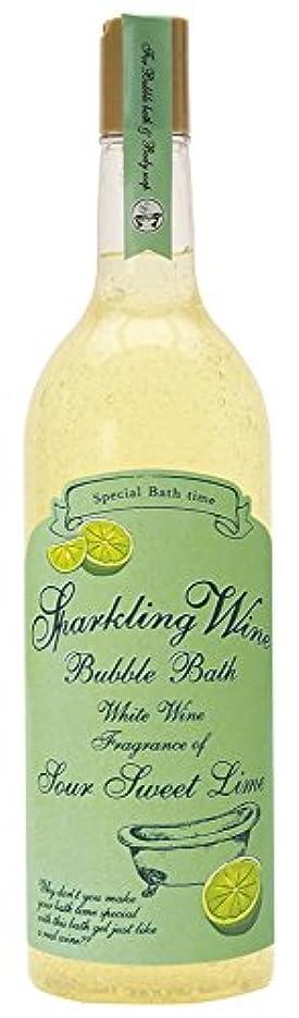 月曜規制規範ノルコーポレーション 入浴剤 バブルバス スパークリングワイン 大容量 810ml ライムの香り OB-WIB-3-2