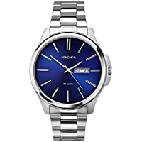 Sekonda Men's SK1224 Year-Round Analog Quartz Silver Watch