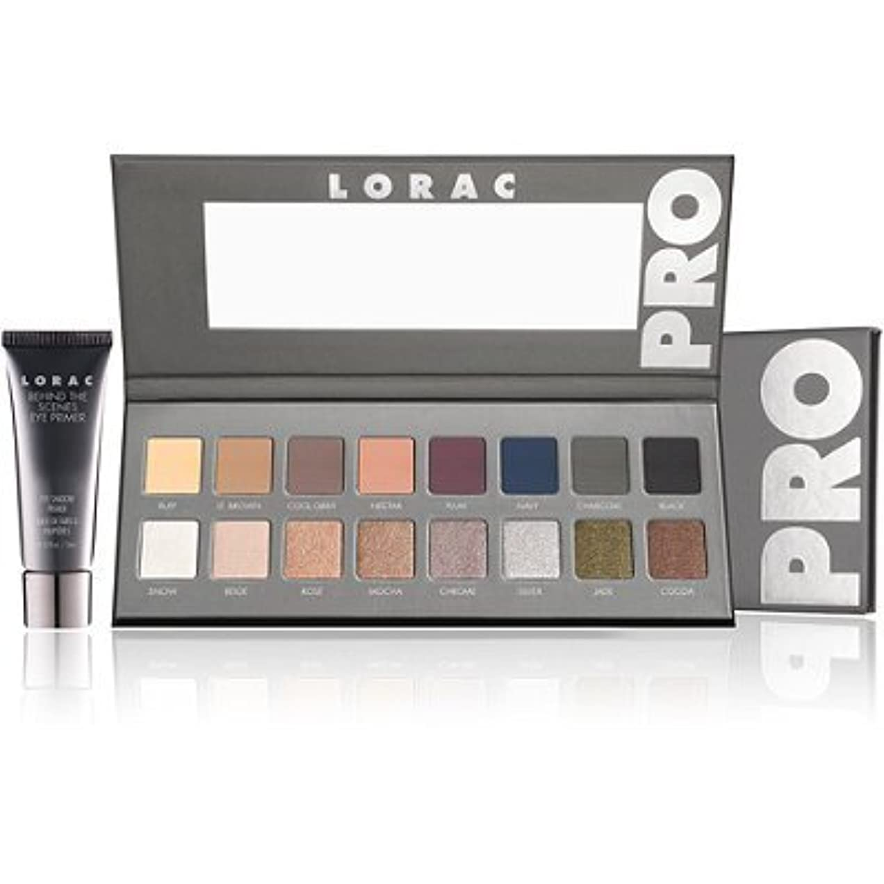 ドローブルゴーニュ死ぬLORAC  'PRO' Palette 2 / LORACプロのアイメイク シャドウパレット 16色