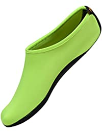 Nclon 男女兼用 ウォーターシューズ 速乾性,裸足 水履物 ウォーターソックス アクアシューズ 通気性 通気性 Yoga ビーチ ウォータースポーツ- M(34-35EU)