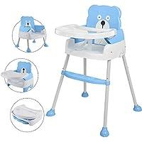 Arshiner 赤ちゃん用 多機能 ハイチェア 4wayベビーチェア 子供 お食事椅子 折りたたみ ローチェア ブースター 6ヶ月から6才まで お食事 おやつ 離乳食 テーブルチャア 椅子置き 組立 脱出防止
