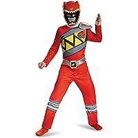 Red Ranger Saban's Power Rangers Dino Charge Superhero Boys Costume
