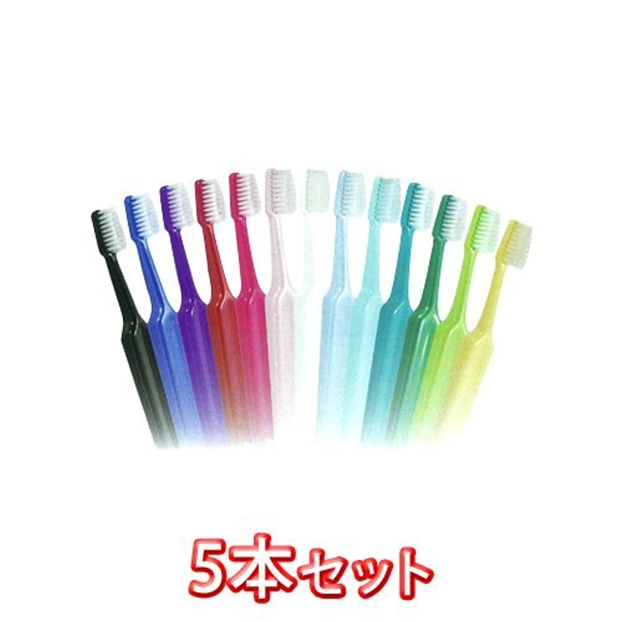 ピック間違い動揺させるクロスフィールド TePe テペセレクトコンパクト 歯ブラシ × 5本入 コンパクトソフト