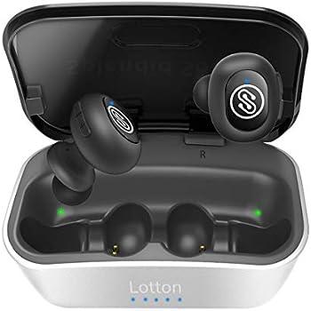 779085b086aa 【 Bluetooth 5.0強化版 1800mAh】Lotton IQute真のワイヤレスイヤホン、Bluetooth イヤホン
