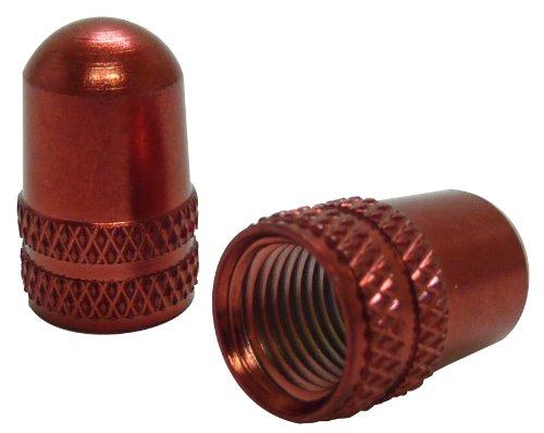 [해외]Ruler (자) 알루미늄 밸브 캡 미국 밸브 용 레드 LY-NC-USRD/Ruler (ruler) Aluminum bulb cap Red for rice valve LY - NC - USRD