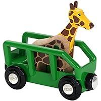 Brio Giraffe and Wagon Train [並行輸入品]