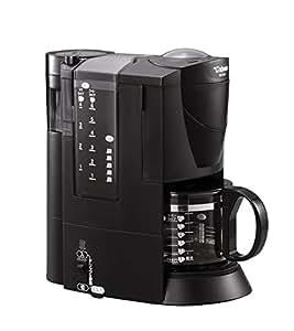 象印 コーヒーメーカー ブラック 1~6杯用 EC-VL60-BA