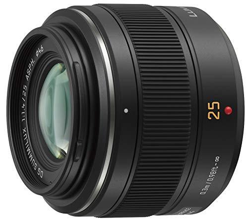 パナソニック 単焦点レンズ マイクロフォーサーズ用 ライカ DG SUMMILUX 25mm/F1.4 ASPH. ブラック H-X025