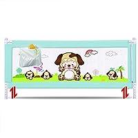 LLAAYY ガードレール 高まるベッドの柵の監視、子供の安全ベッドの柵のためのクイーンサイズのベッドの監視隠す阿波高さ調節可能、キング/クイーンサイズのベッドに適して 子供のための (Color : A, Size : 180cm)