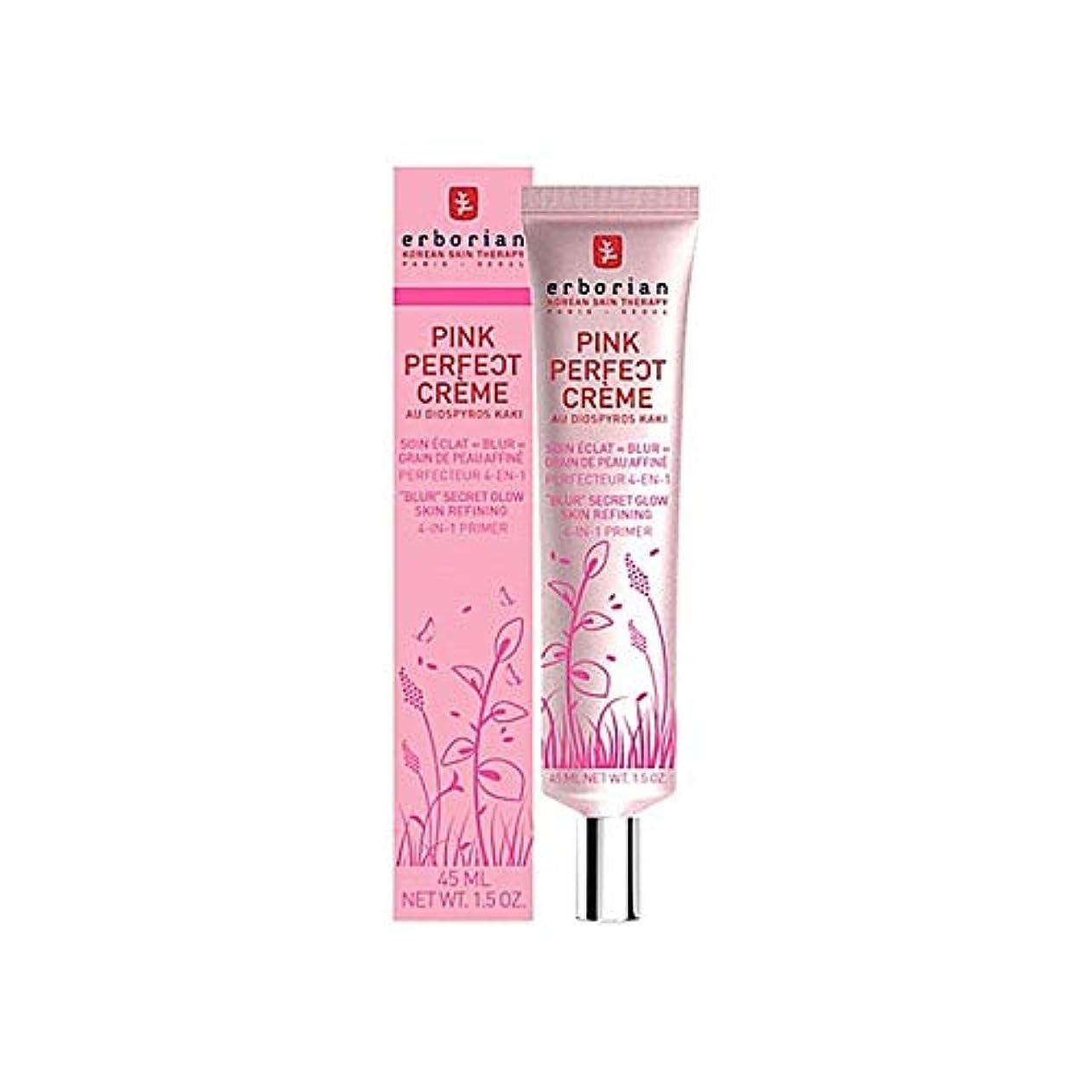協定活発キャッチ[Erborian] Erborianピンクの完璧なクリーム45ミリリットル - Erborian Pink Perfect Creme 45ml [並行輸入品]