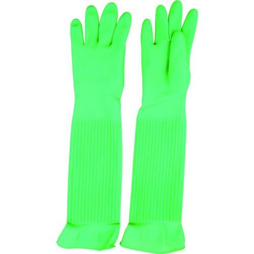 天然ゴム厚手手袋スーパーロングL 1双