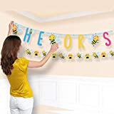 ベビーシャワー' What Will It Bee ? 'Jumbo Letter Banner Kit (1ct)