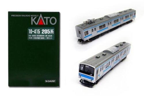 ▽ カトー (10-415) 205系(京阪神緩行色) 7両セット KATO鉄道模型Nゲージ 『宝』140521