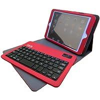 ビクターアドバンストメディア iPadmini用 スタンド・保護カバー兼ブルートゥースキーボード EC-BKIM3001R