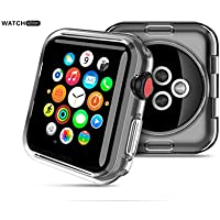 YOKEL Apple Watch Series 3 ケース クリスタル クリア TPU素材 保護カバー 耐衝撃性 脱着簡単 超軽量 透明 (Apple Watch Series 3 42mm)