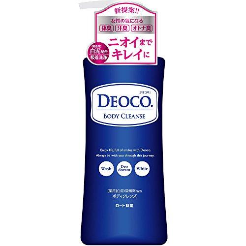 【医薬部外品】ロート製薬 デオコ 薬用デオドラント ボディクレンズ 350mL