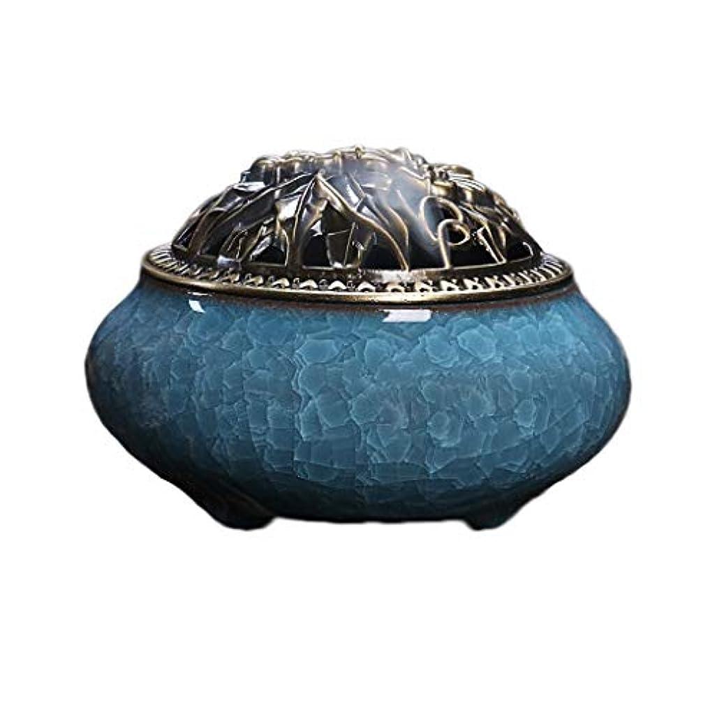 トン不合格どうしたの芳香器?アロマバーナー セラミック香炉ポータブル磁器香炉仏教香ホルダーホームティーハウスヨガスタジオ香ギフト 芳香器?アロマバーナー (Color : D)