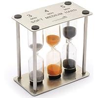 Kitchen Craft ステンレストリプル砂時計 KCMCTIM3