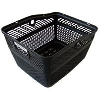 ブリヂストン アンジェリーノ専用 スタイリッシュバスケット L (前後兼用バスケット)RBK-ST2 ブラック