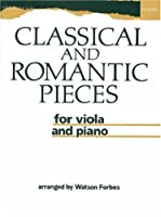 Classical and Romantic Pieces for Viola and Piano