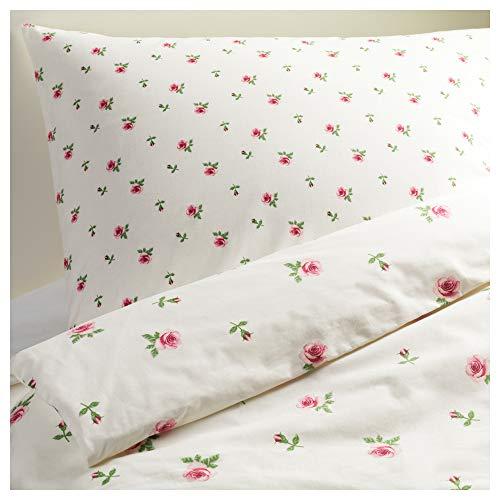 IKEA(イケア)『エメリーナ クノップ 掛け布団カバー&枕カバー』