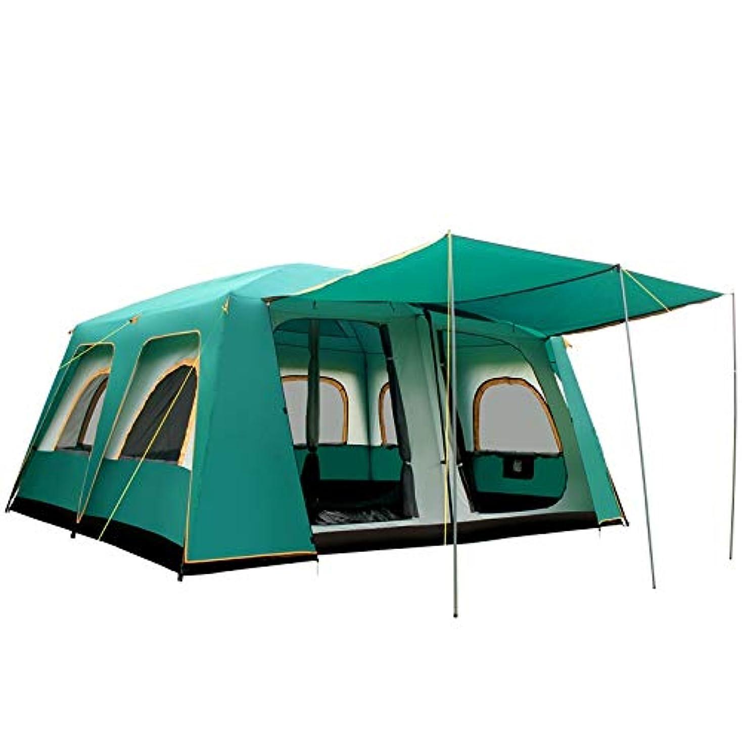 罰悲惨な謎めいた屋外テント、10-16人、家族、友達、ビッグテント、防雨