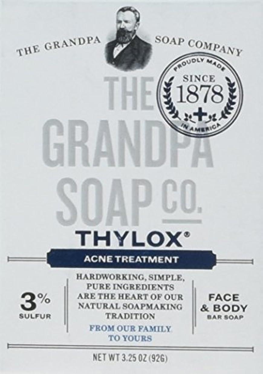 活性化する価値抽選The Grandpa Soap Company おじいちゃんのSOAP、THYLOXにきびTRTMNT、3.25 OZ、6パック