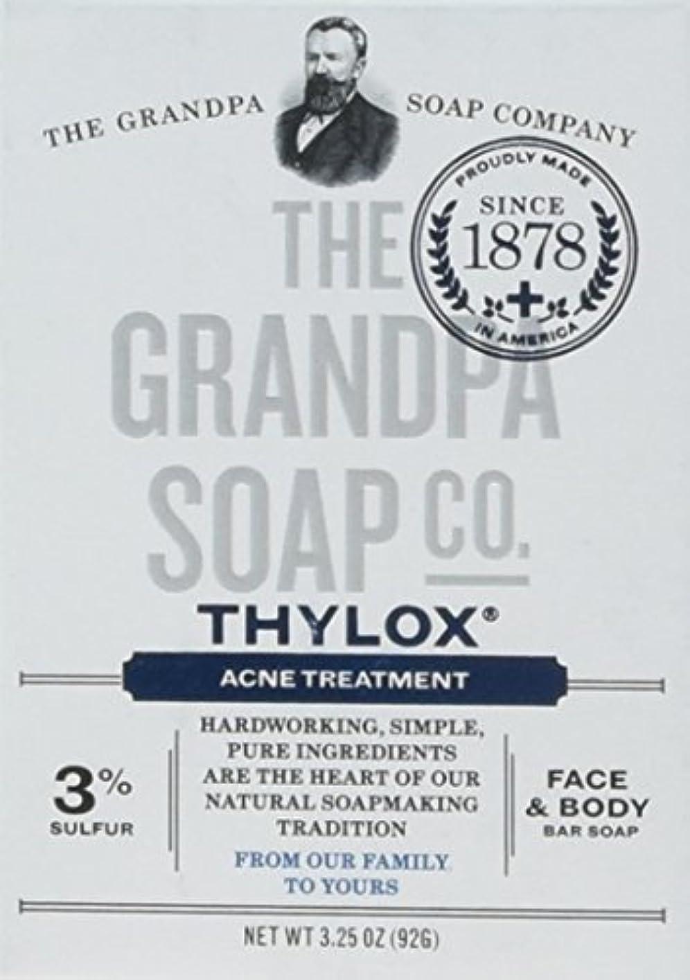 星モンスター扇動The Grandpa Soap Company おじいちゃんのSOAP、THYLOXにきびTRTMNT、3.25 OZ、6パック
