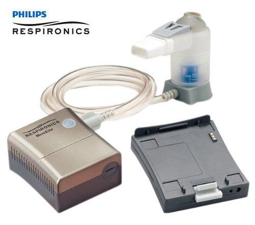 フィリップス・レスピロニクス コンプレッサー式ネブライザ マイクロエリート[充電バッテリー付きセット]