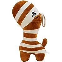 ぬいぐるみおもちゃ、かわいいZebra Plush Stuffed Animal Toy 11 inches ブラウン OJ02RFS