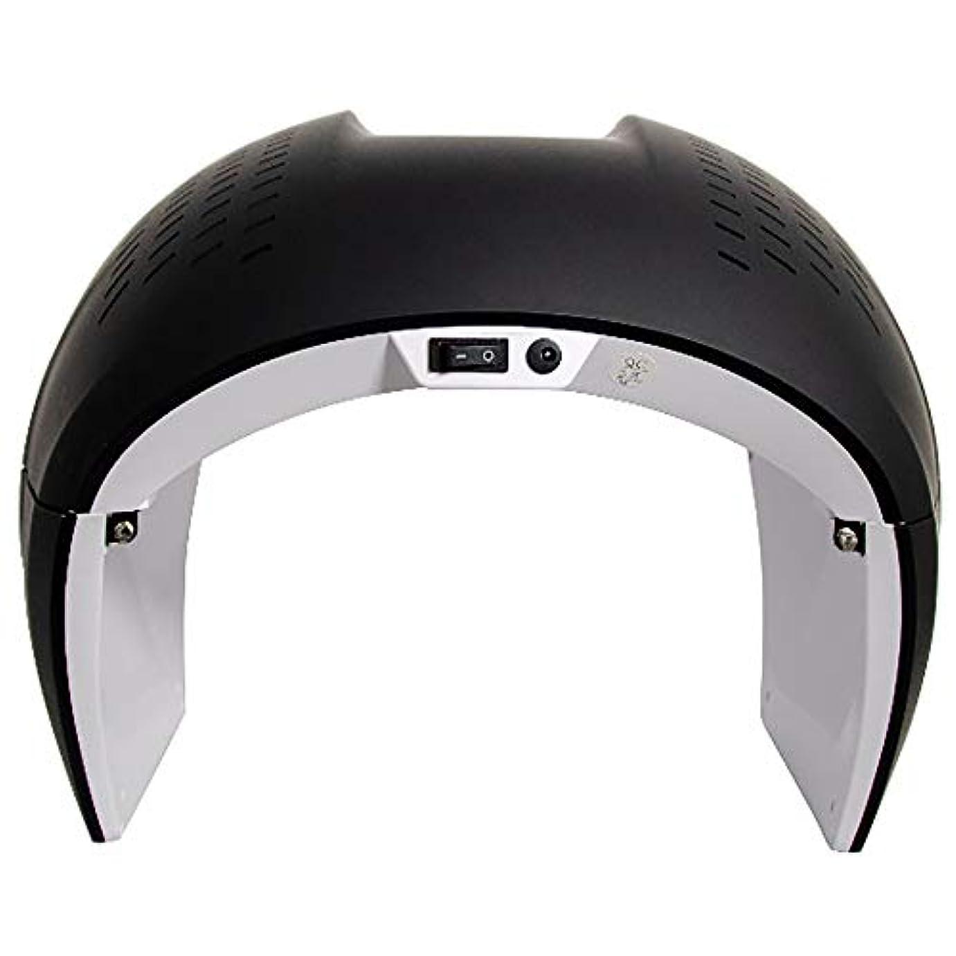 出発既に危険にさらされている7色LEDのマスク、健康な皮の若返りのための光子の赤灯療法、反老化、保護めがねが付いているアクネの除去剤の光子マスク