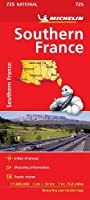 Southern France Map 725 2018 (MICHELIN NATIONAL MAPS)