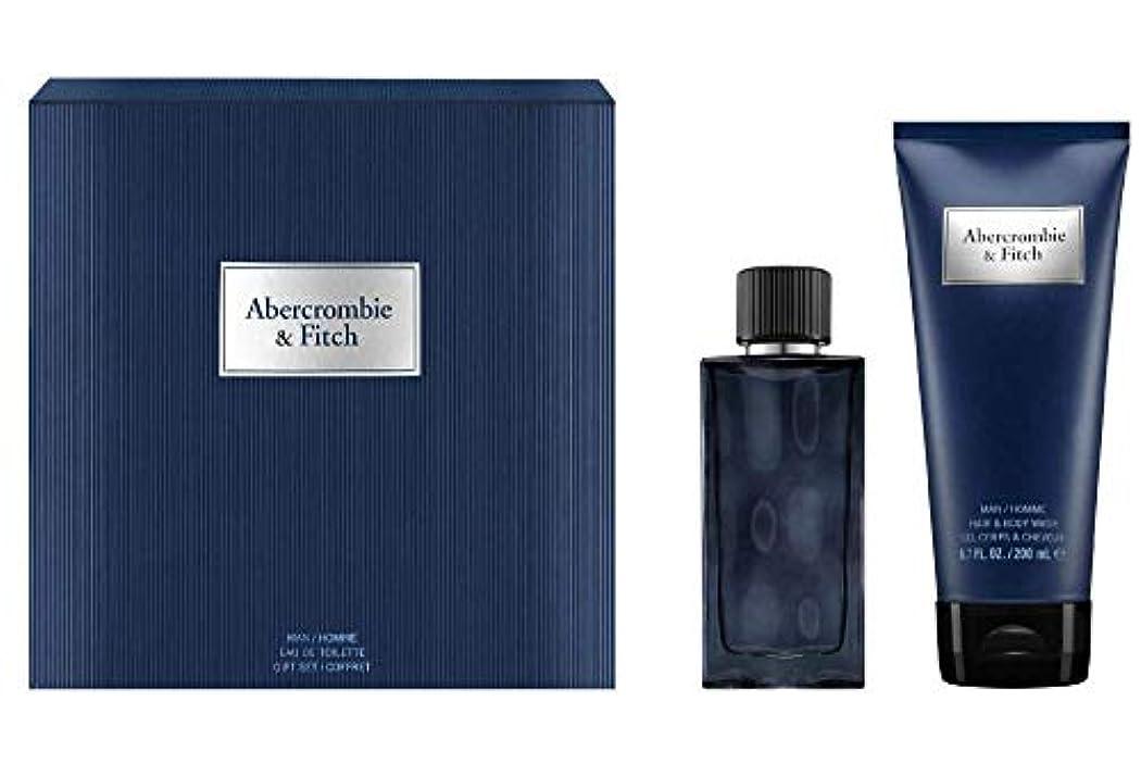 定義放棄された秘書アバクロンビー&フィッチ First Instinct Blue Coffret: Eau De Toilette Spray 50ml/1.7oz + Hair & Body Wash 200ml/6.7oz 2pcs...