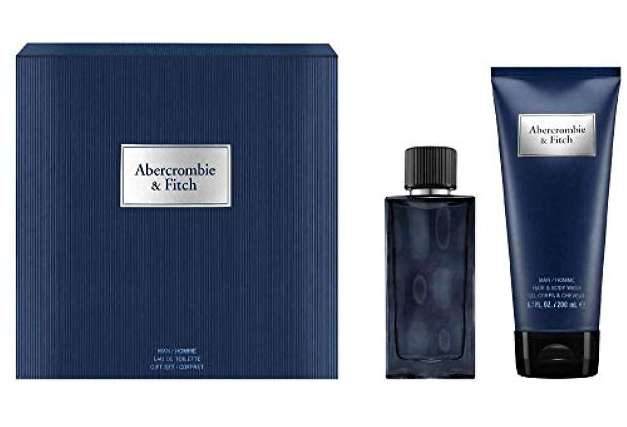 ライオネルグリーンストリートもう一度周波数アバクロンビー&フィッチ First Instinct Blue Coffret: Eau De Toilette Spray 50ml/1.7oz + Hair & Body Wash 200ml/6.7oz 2pcs...