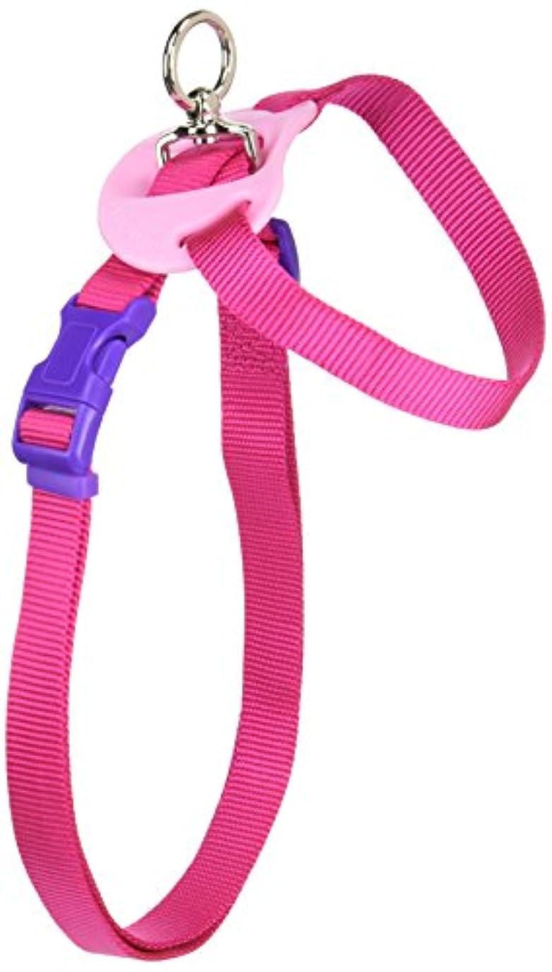 レーザ考古学的なできないハンドラー シンプル8の字胴輪 M(中型犬用) ピンク [犬用ハーネス]