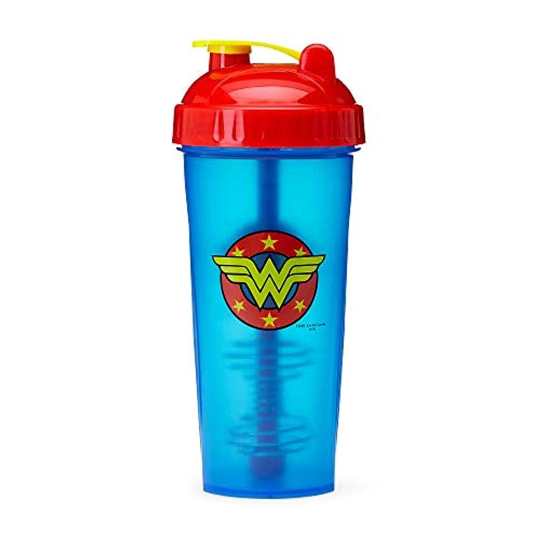 登場セットする爆発物PerfectShaker Hero Series Nutrition Shaker Bottle, Wonder Woman by Perfect Impressions
