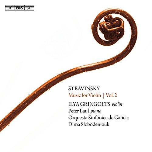 ヴァイオリン作品集 第2集~イタリア組曲、ヴァイオリン協奏曲、他 イリヤ・グリンゴルツ、ペーター・ラウル、ディーマ・スロボデニュク&ガリシア交響楽団