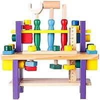大工さんセット 工具セット おままごと 木のおもちゃ 工具箱 ツール 組み立て 男の子のおもちゃ キッズ用 子供のおもちゃ 知育玩具 誕生日 クリスマス プレゼント