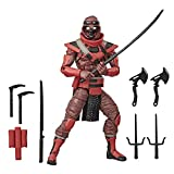 G.I. Joe Classified Series Red Ninja Action Figure 08 Collectible Premium Toy with Multiple Accessories 6-Inch Scale with Custom Package Art